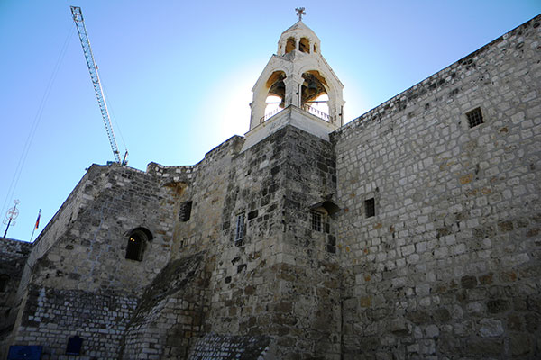 Most visited pilgrims sites + Church of nativity