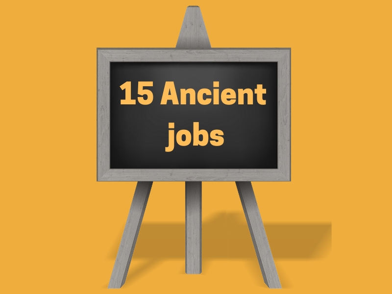 15 ancient Jobs