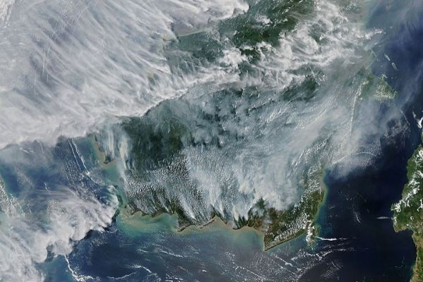 Indonesian forest fires (1997)