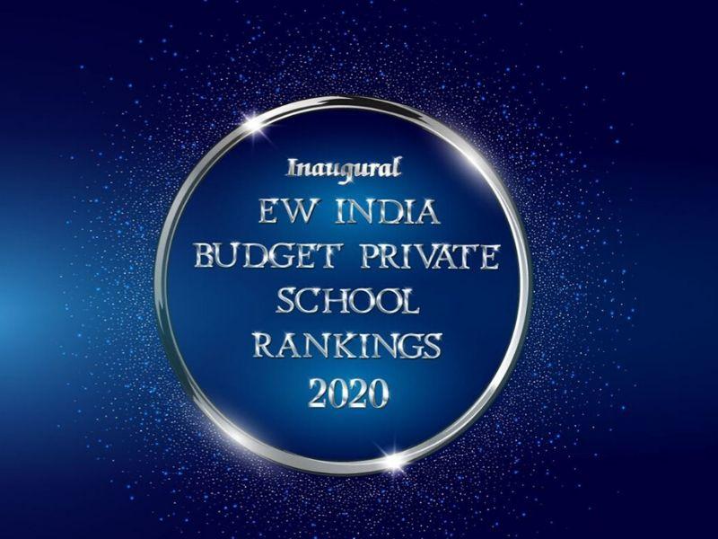 EW India Budget Private School Rankings Awards 2020