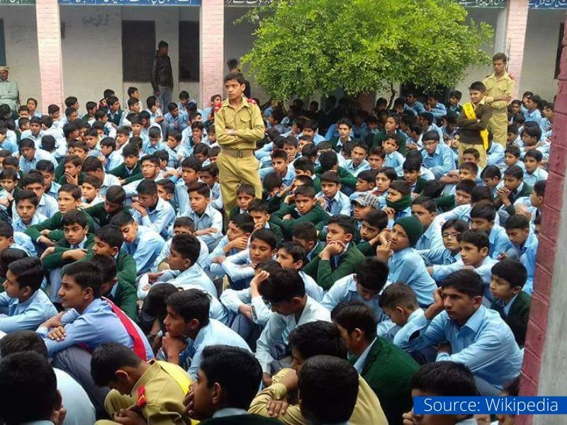 Students government schools Haryana
