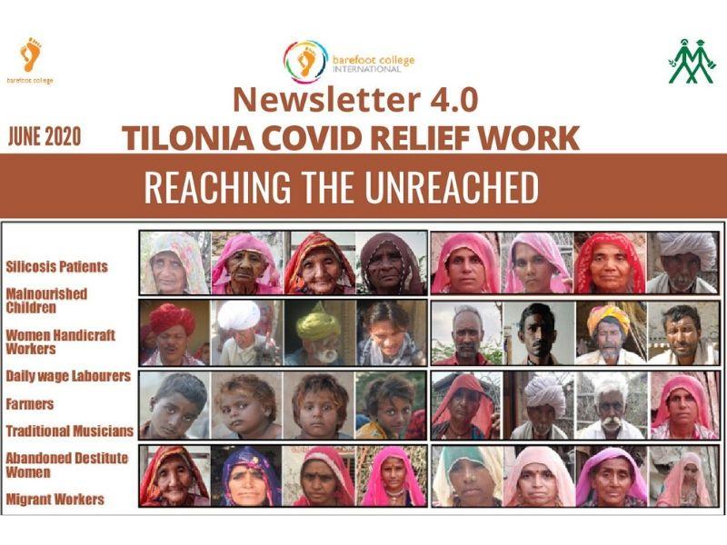 Tilonia covid relief work