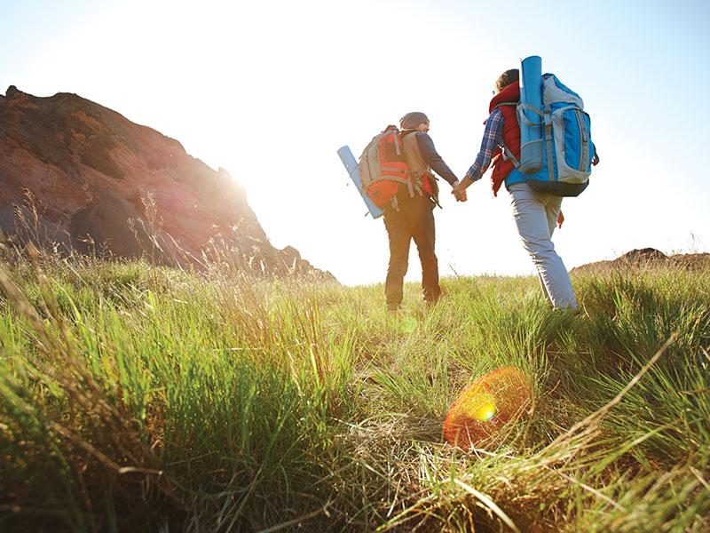 Go trekking!