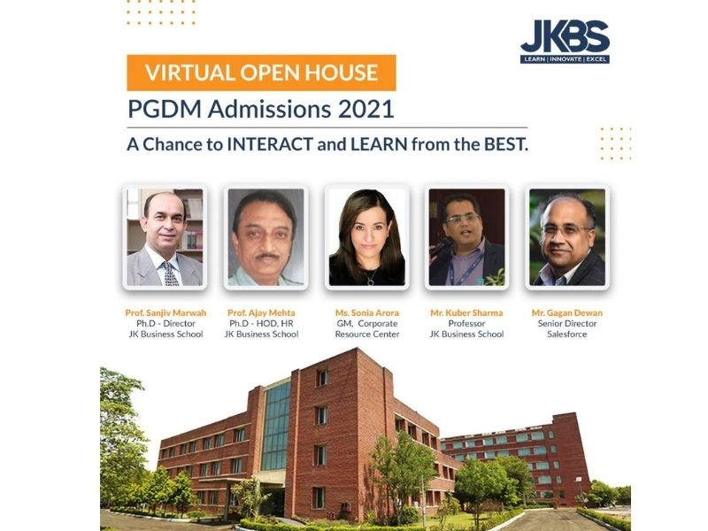 JK Business School to hold Virtual Open House for PGDM students